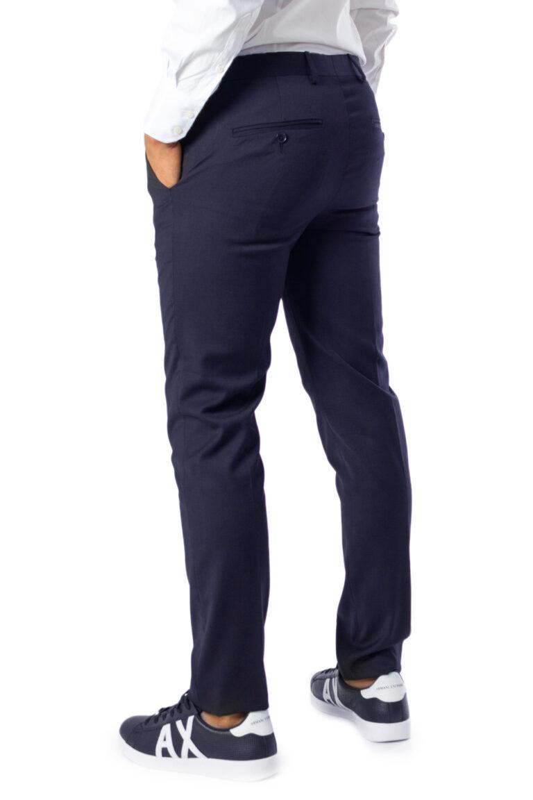 Pantaloni slim Selected Mylobill Navy Trouser B Noos Blu - Foto 2