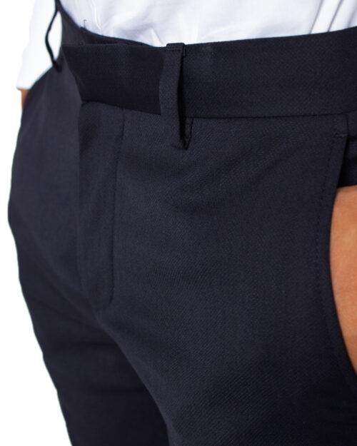 Pantaloni slim Selected Mylobill Navy Trouser B Noos Blu - Foto 3