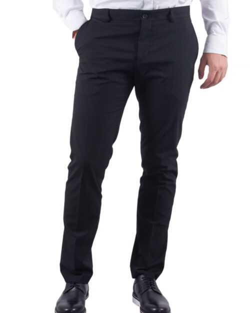 Pantaloni slim Selected 16051390 Nero – 9710