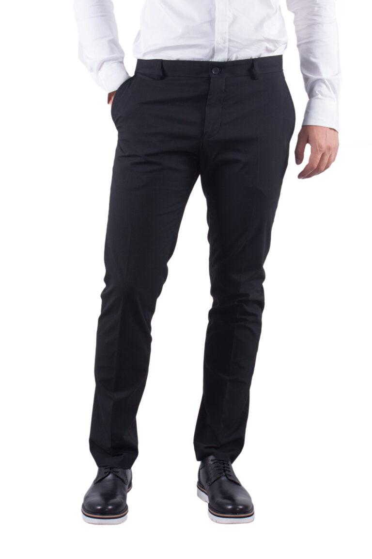Pantaloni slim Selected 16051390 Nero - Foto 1