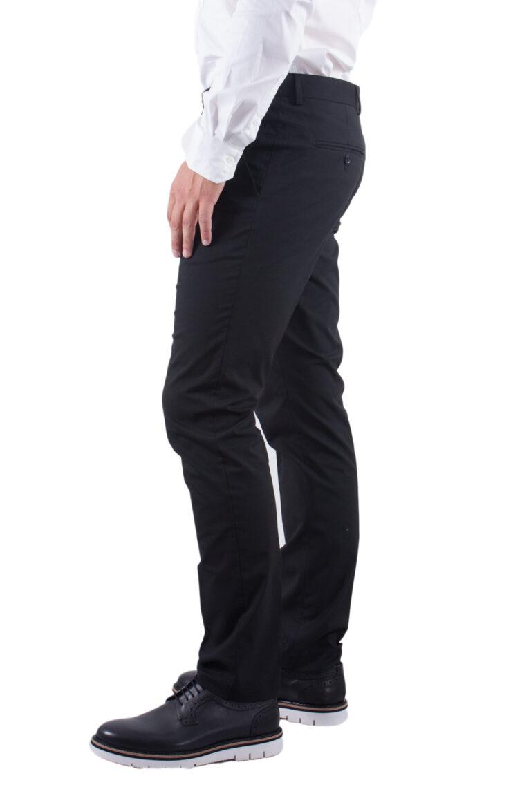 Pantaloni slim Selected 16051390 Nero - Foto 2