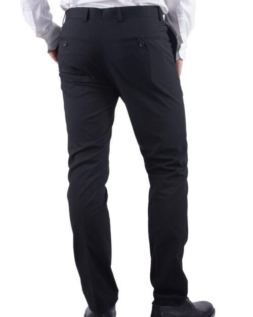 Pantaloni slim Selected 16051390 Nero - Foto 3