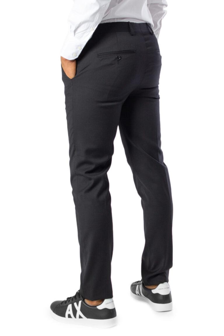 Pantaloni slim Selected Mylobill Black Trs B Noos Nero - Foto 2