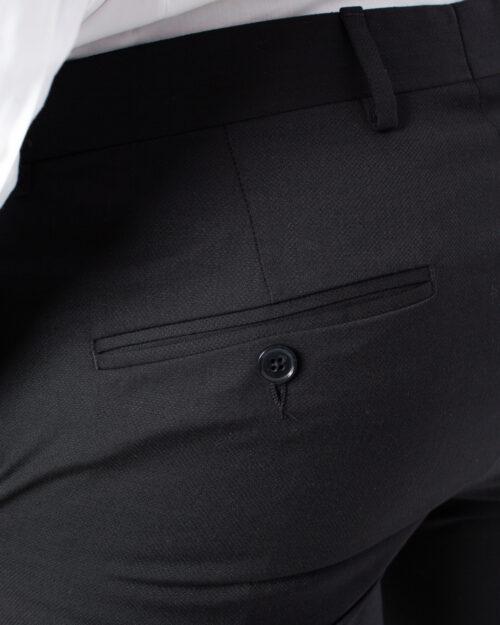 Pantaloni slim Selected Mylobill Black Trs B Noos Nero - Foto 4