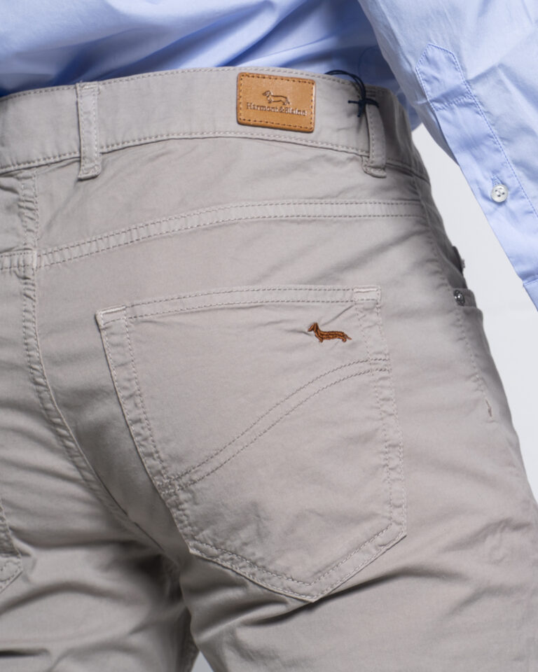 Pantaloni Harmont&Blaine BASICO Beige - Foto 4