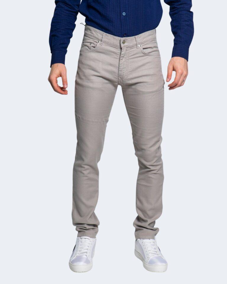 Pantaloni slim Harmont&Blaine 5 TK BASICO Beige - Foto 2