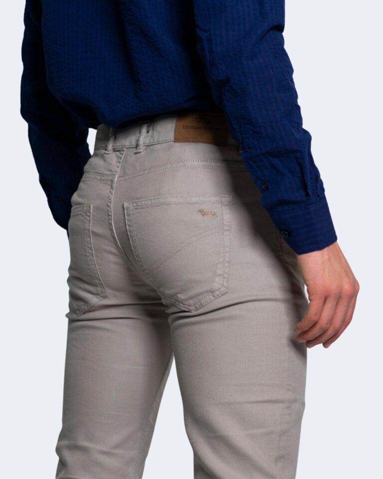 Pantaloni slim Harmont&Blaine 5 TK BASICO Beige - Foto 3