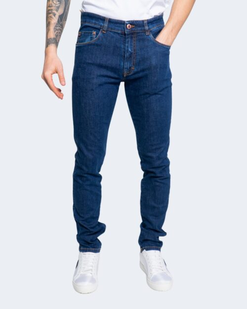 Pantaloni slim Harmont&blaine 5 TK BASICO Denim scuro – 66833