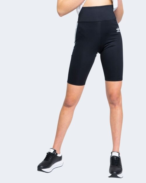 Pantaloni sportivi Adidas BIKER Nero - Foto 4