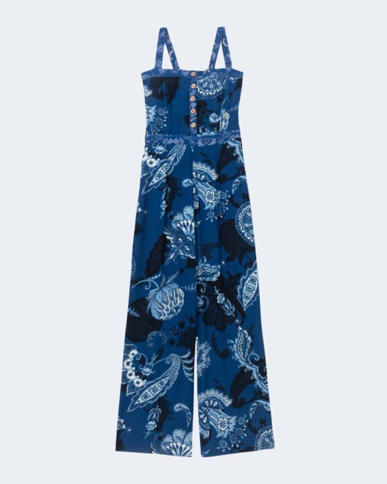 Salopette pantaloni Desigual PATRICIA Blu - Foto 2