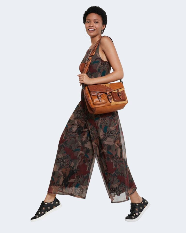 Salopette pantaloni Desigual SOHO Marrone - Foto 1