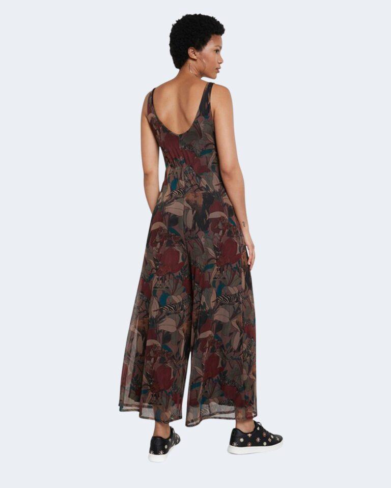 Salopette pantaloni Desigual SOHO Marrone - Foto 2