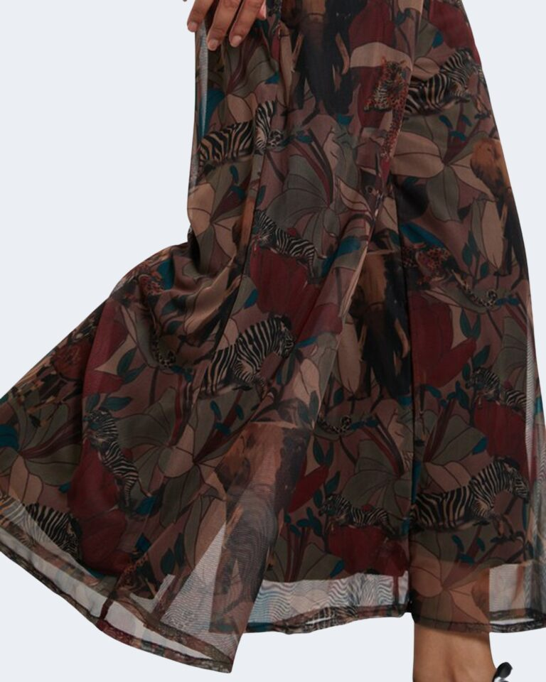 Salopette pantaloni Desigual SOHO Marrone - Foto 3