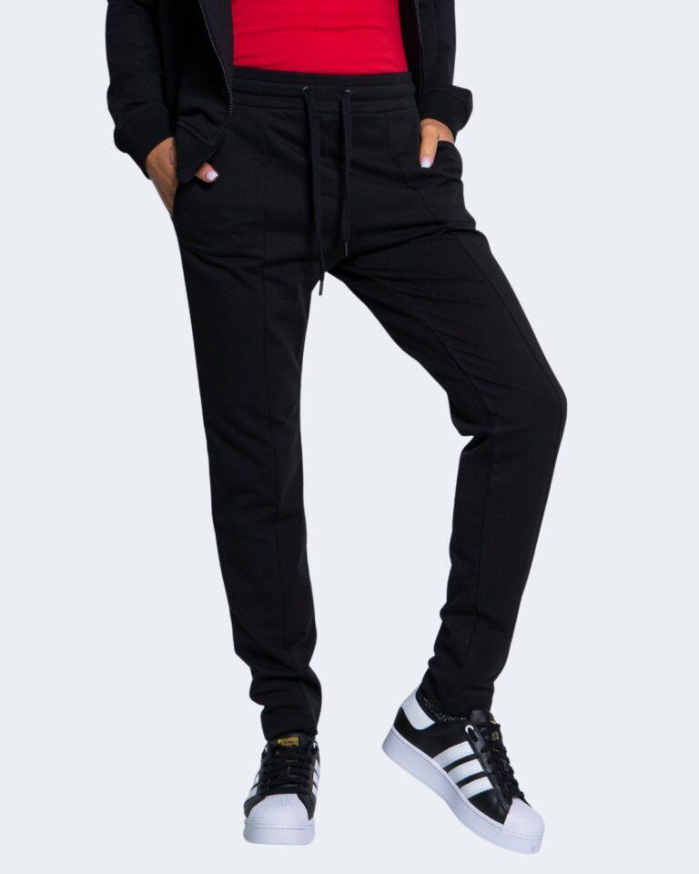 Pantaloni sportivi Love Moschino CORE BLACK AND WHITE Nero - Foto 1