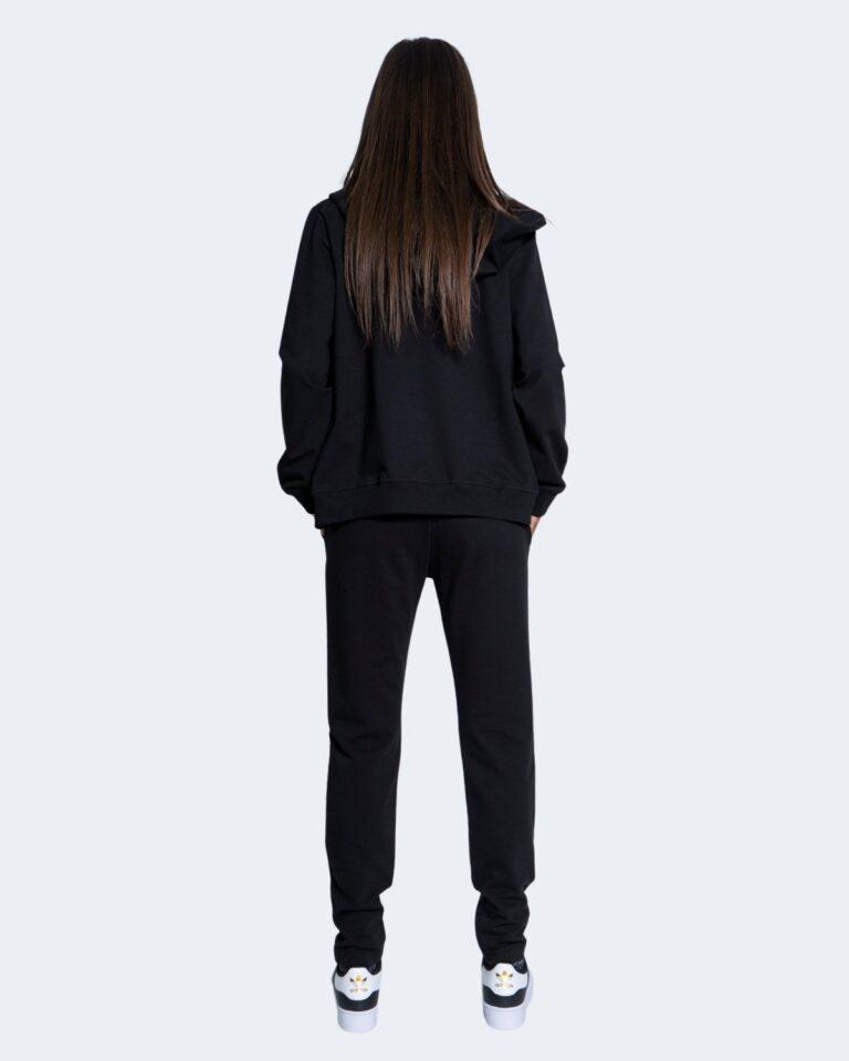 Pantaloni sportivi Love Moschino CORE BLACK AND WHITE Nero - Foto 2