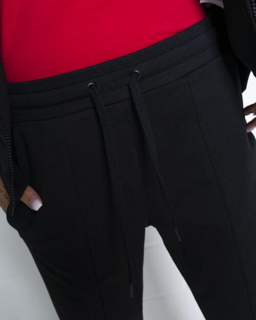 Pantaloni sportivi Love Moschino CORE BLACK AND WHITE Nero - Foto 3