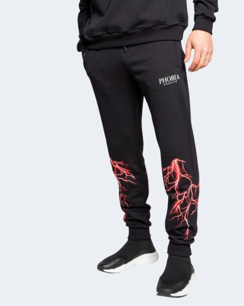 Pantaloni sportivi Phobia RED LIGHTING Nero – 67510