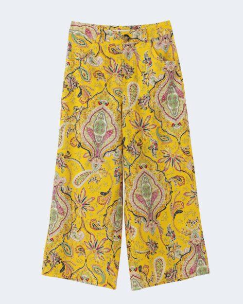 Pantaloni a palazzo Desigual LUCAS Giallo – 65731