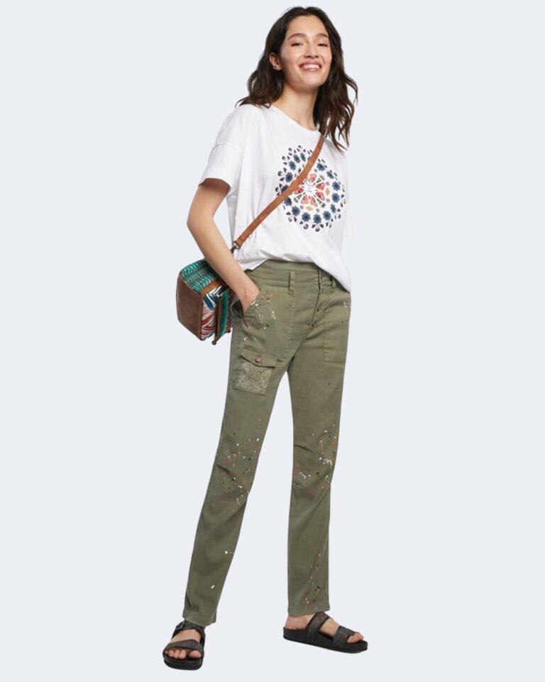 Pantaloni skinny Desigual SANDY Verde Oliva - Foto 1
