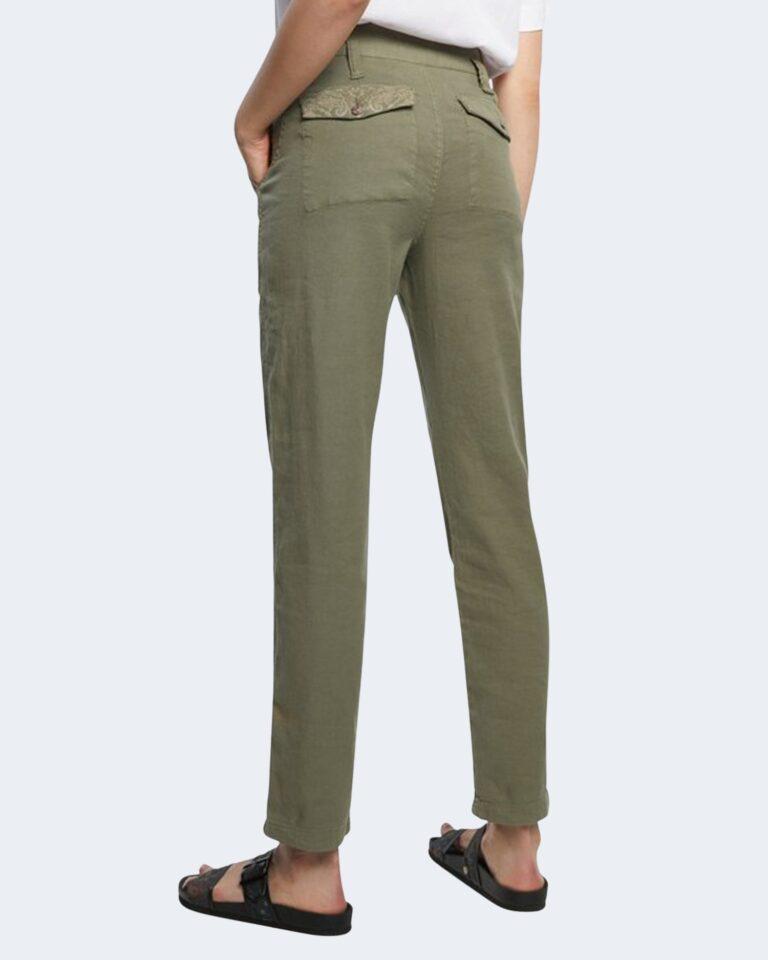 Pantaloni skinny Desigual SANDY Verde Oliva - Foto 4