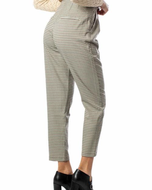 Pantaloni bootcut Vila Clothes Controllo pantaloni HWRX 7/8 Beige – 34387