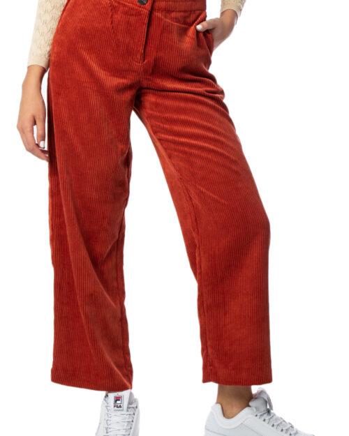 Pantaloni a palazzo Vila Clothes Emily Rw 7/8 Pants Mattone - Foto 1