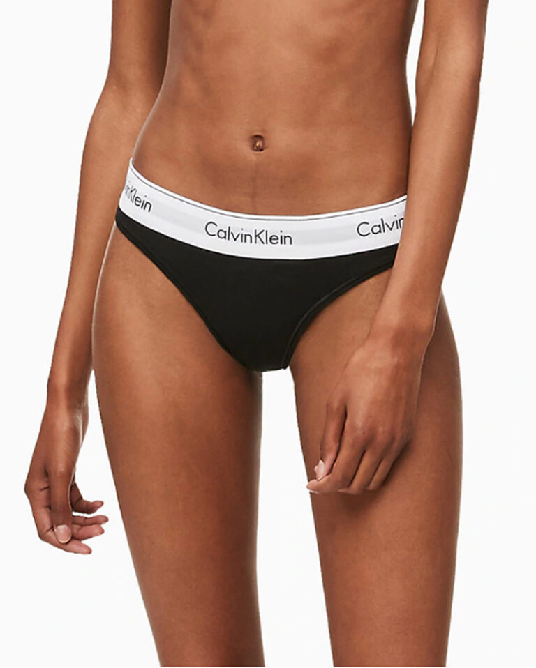 Calvin Klein Underwear THONG Nero - Foto 1