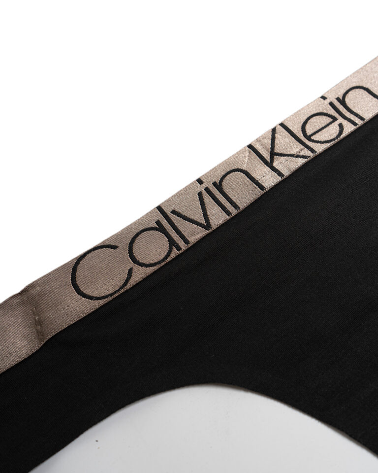 Calvin Klein Underwear THONG Nero - Foto 2