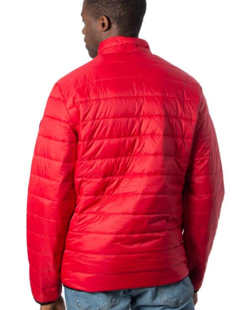Piumino Jack Jones Eric Puffer Collar Noos Rosso – 40179