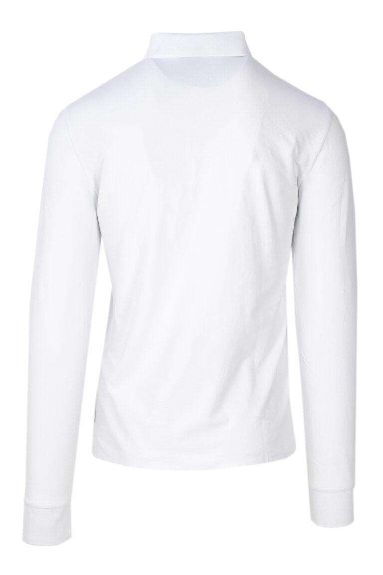 Polo manica lunga Armani Exchange - Bianco - Foto 2