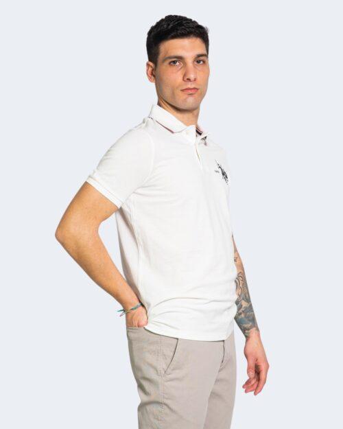 Polo manica corta U.s. Polo Assn. COLLAR Bianco – 67813