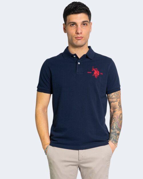 Polo manica corta U.s. Polo Assn. COLLAR Blu – 67813