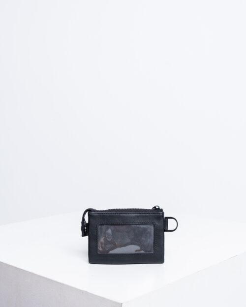Portafoglio senza portamonete Calvin Klein MONO BLEND ZIPPED POUCH Nero - Foto 2