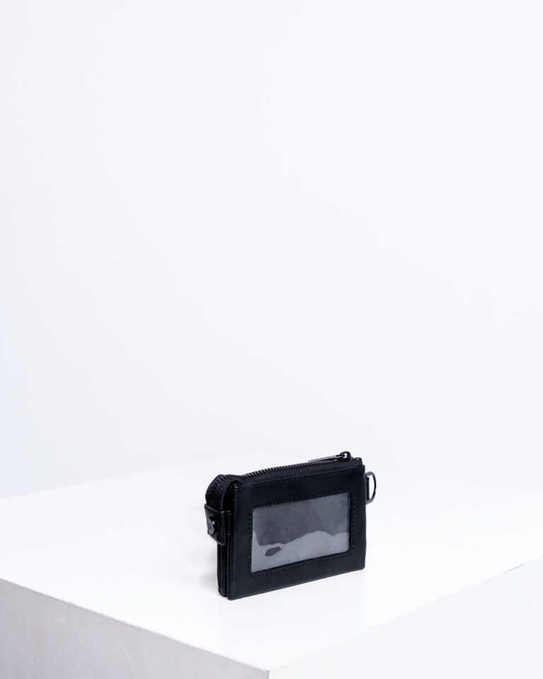 Portafoglio senza portamonete Calvin Klein MONO BLEND ZIPPED POUCH Nero - Foto 3