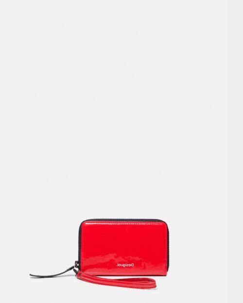 Portafoglio grande Desigual Mone forever young mini zip Rosso - Foto 1