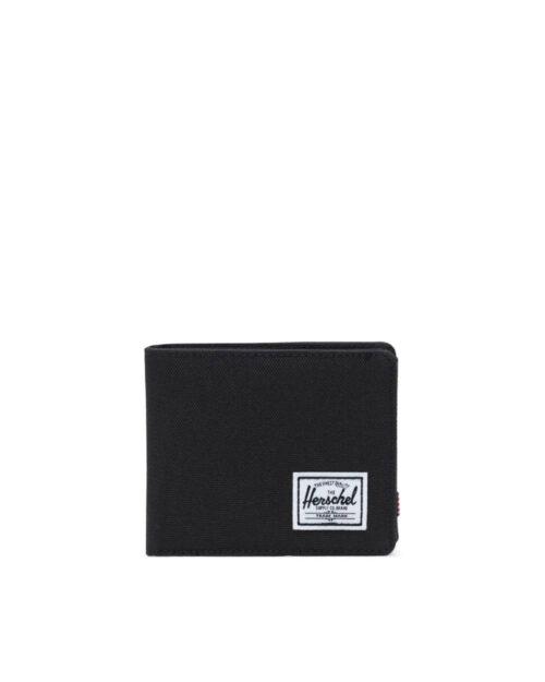 Portafoglio con portamonete Herschel ROY + COIN RFID Nero – 27768
