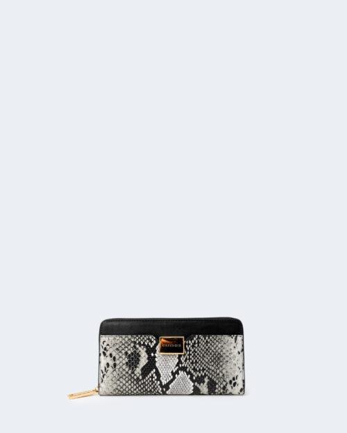 Portafoglio grande Cafè Noir BIMATERIALE Nero – 66241