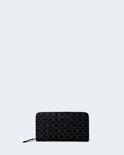 Portafoglio grande Calvin Klein Z/A WALLET Nero – 64805