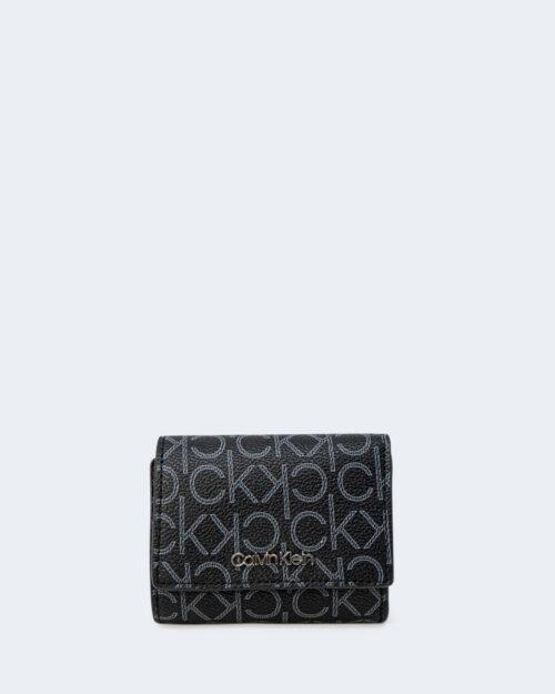 Portafoglio piccolo Calvin Klein TRIFOLD MONOGRAM Nero – 64795