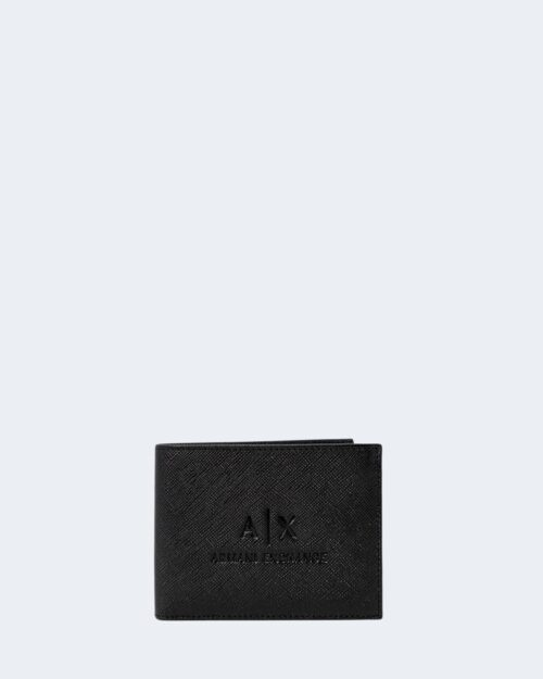 Portafoglio senza portamonete Armani Exchange WALLET Nero – 65152