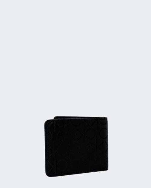 Portafoglio senza portamonete Calvin Klein BIFOLD Nero – 64759