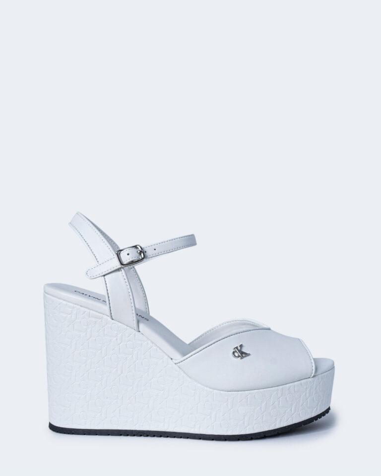 Scarpe con tacco Calvin Klein Jeans WEDGE SANDAL Bianco - Foto 1