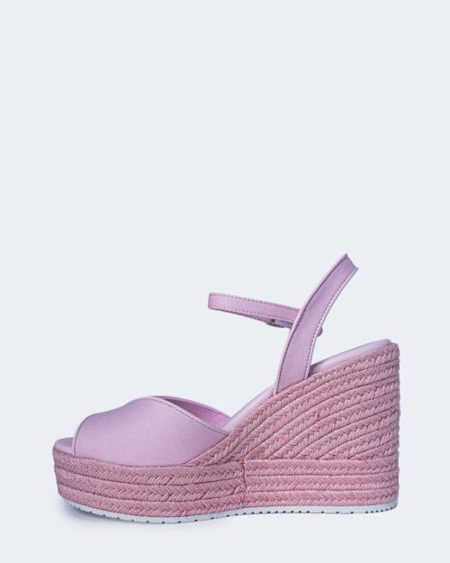 Scarpe con tacco Calvin Klein WEDGE SANDAL Rosa – 64724