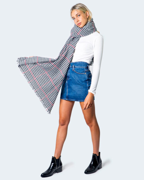 Sciarpa Only WEAVED SCARF Nero – 54946