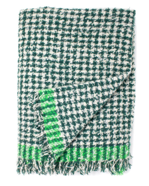 Sciarpa Only Franny Boucle Woven Scarf Verde – 34406
