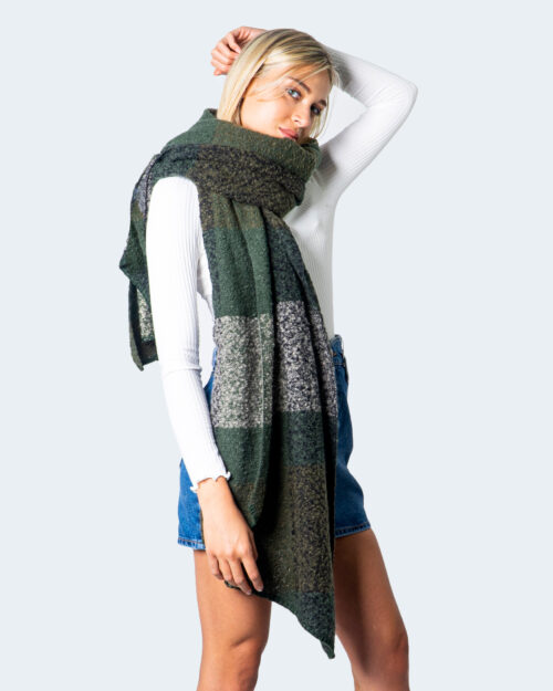 Sciarpa Only LIMA CHECK SCARF NOOS Verde – 55021