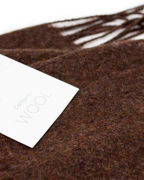 Sciarpa Vila Clothes North Wool Scarf Bordeaux – 34392