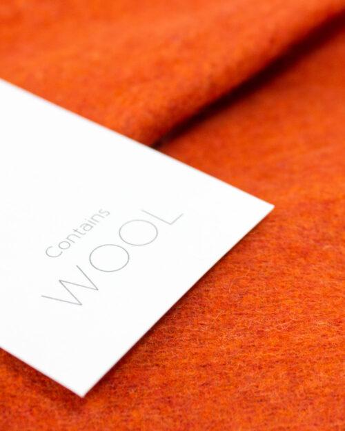 Sciarpa Vila Clothes North Wool Scarf Mattone – 34392