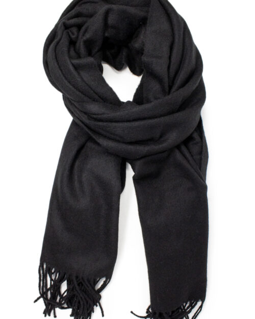 Sciarpa Vila Clothes North Wool Scarf Nero – 34392