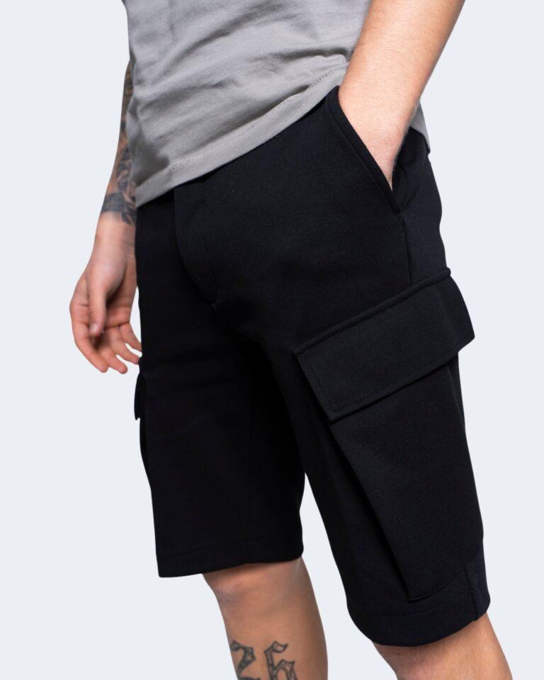 Shorts Antony Morato FELPA SLIM Nero - Foto 1